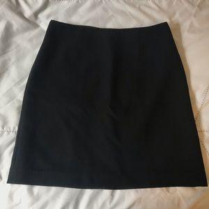 gap black mini skirt business size 4